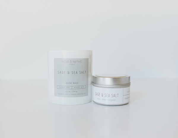 Sage & Sea Salt Candle