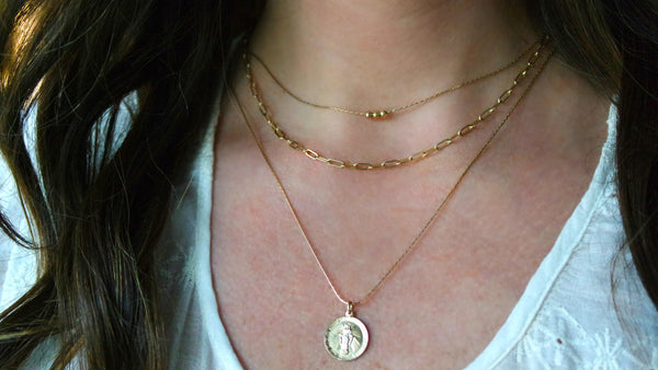 14k Gold Filled Trio Necklace