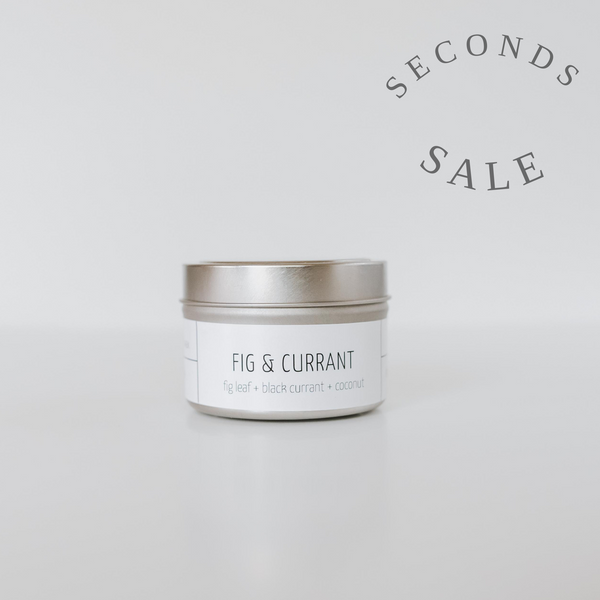 Fig & Currant 4 oz Travel Candle