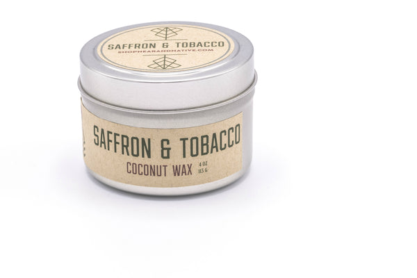 Saffron & Tobacco Travel Candle