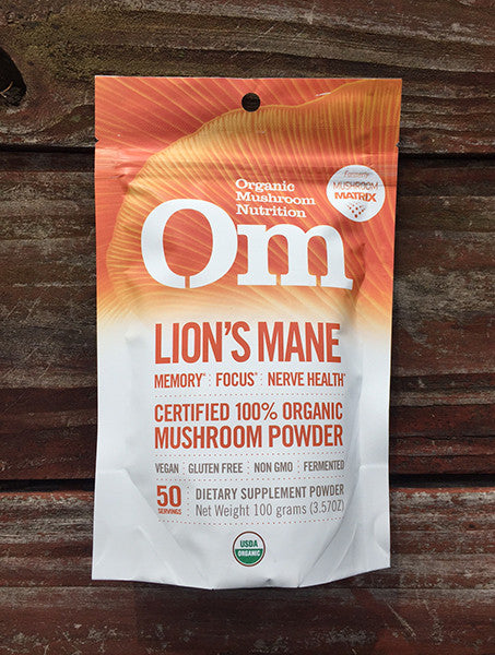 Lion's Mane By OM   100Grams, 50 Servings