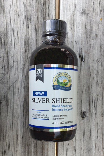 NATURE'S SUNSHINE Silver Shield supplement 4oz.