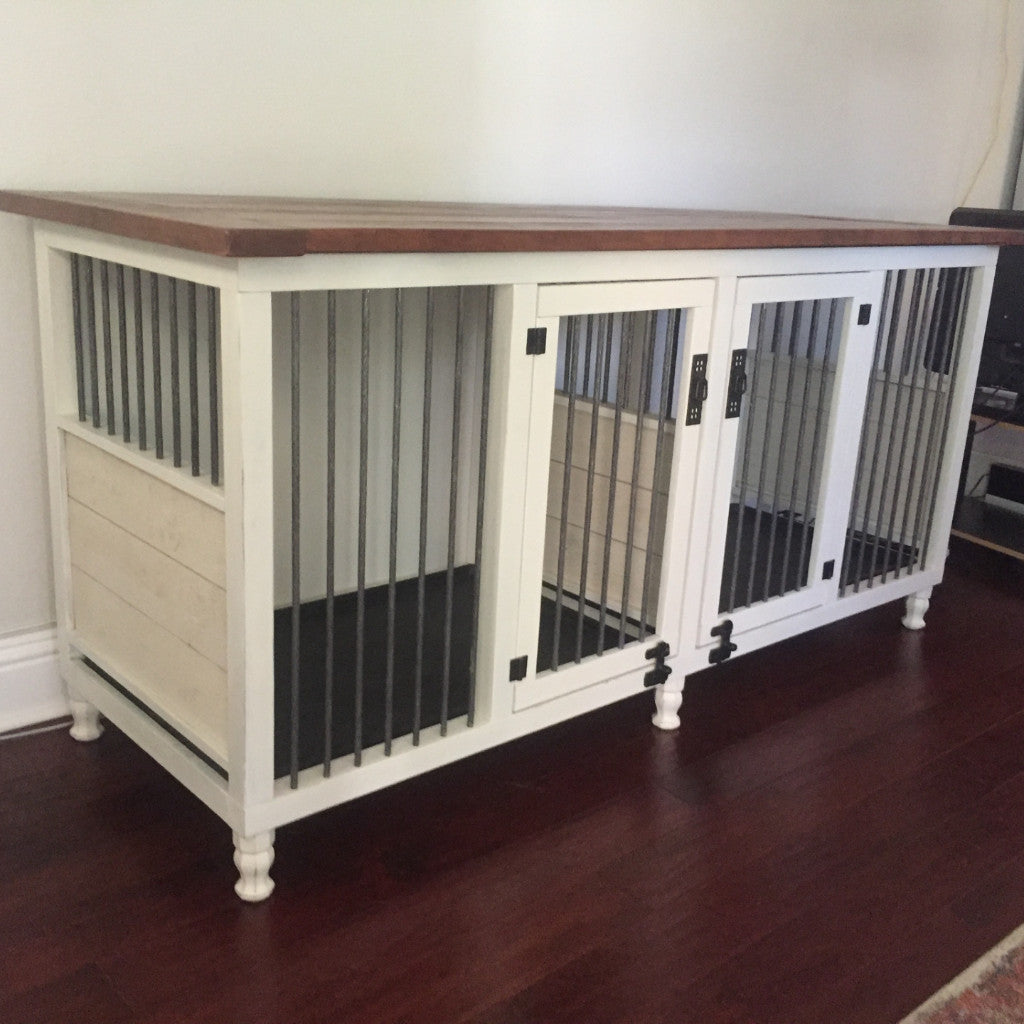 lovely table side cupboard for dog crate designer coffee furnitures furniture luxury kennel