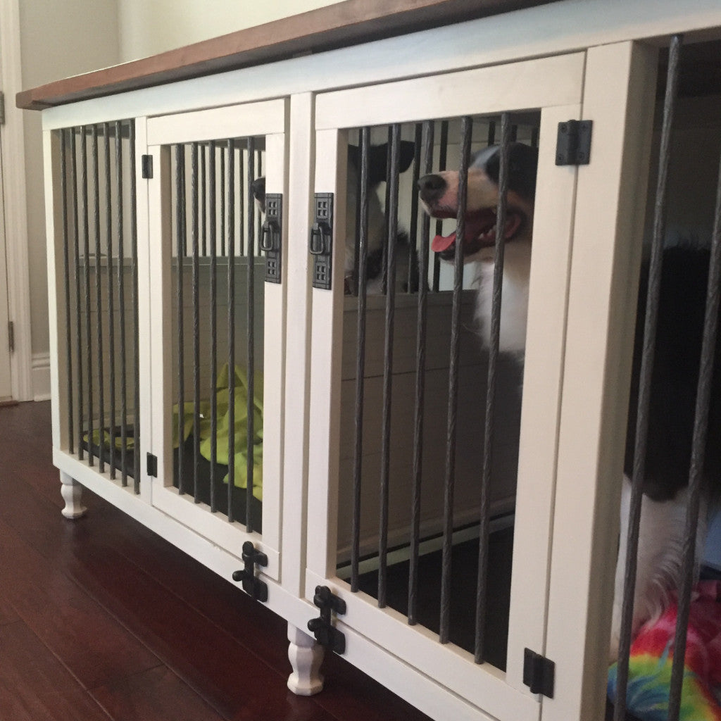 Original Double Dog Kennel Artsy Reclaimed