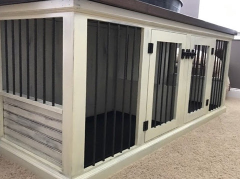 Farmhouse Double Dog Kennel