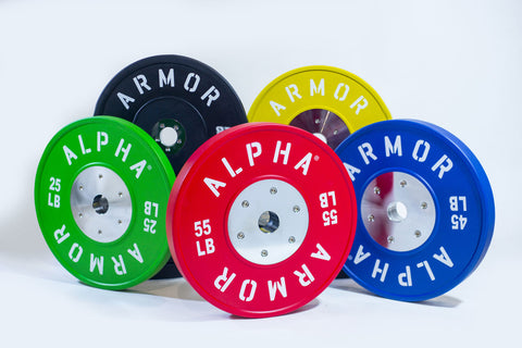 Olympic Competition Bumper Plate Alpha Armor®