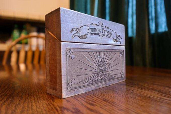 Handcrafted Wooden Patriot Box - Conflicted the Game