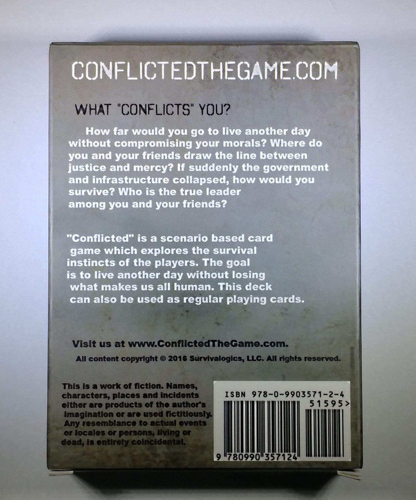 Conflicted: Deck 1 - Downfall - Conflicted the Game