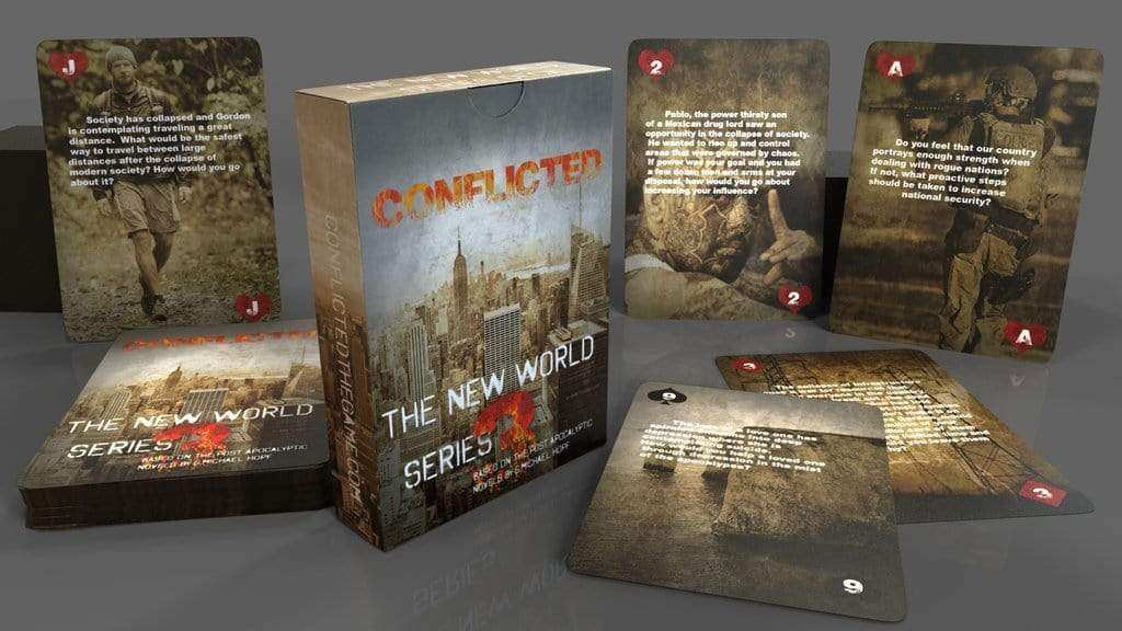 Conflicted: The Survival Card Game All 7 Decks Set