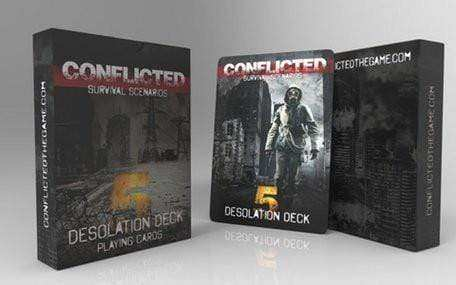 Conflicted: Deck 5 - Desolation - Conflicted the Game