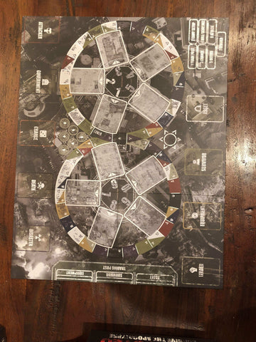 Conflicted: Survive the Apocalypse Board Game - Conflicted the Game