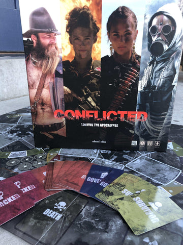 Image of Conflicted: Survive the Apocalypse Collector's Edition - Conflicted the Game