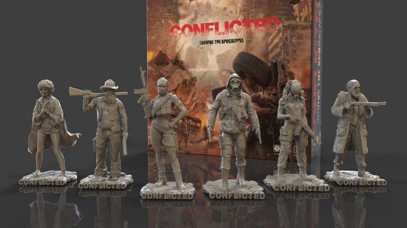 Conflicted: Survive the Apocalypse Board Game