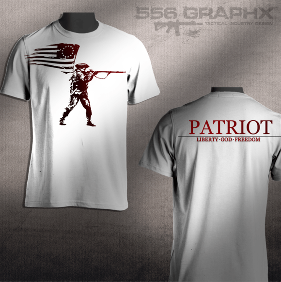 Patriot T-Shirts - Conflicted the Game