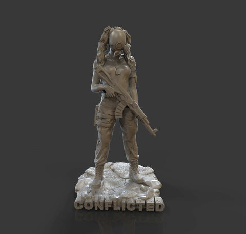 Jade Mini Figurine - Conflicted the Game