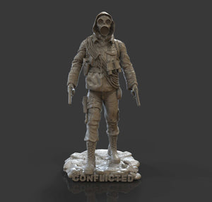 Prepper Mini Figurine - Conflicted the Game