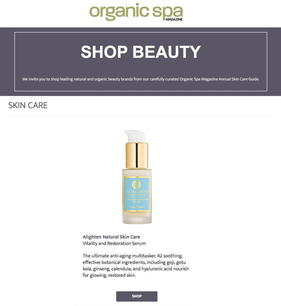 Organic Spa Magazine Serum Online