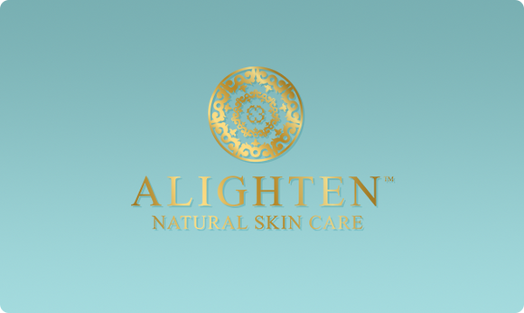 A gift card for Alighten Natural Skin Care