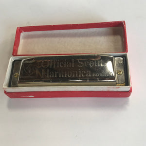 Official Scout Harmonica BSA Boy Scouts by Hohner. Tested and working.