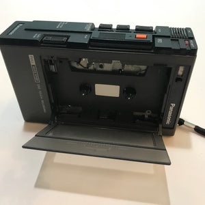 Vintage Panasonic Handheld Portable Cassette Tape Player Recorder RQ-335