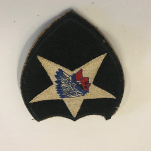 world war one second infantry United States Army 1939-1945 patch