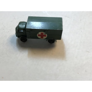 Good Cond Vintage Service Ambulance Ford 3 Ton 4x 4 No 63 Lesney - Annzstiques