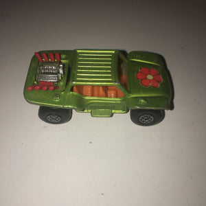 1971 Matchbox Superfast Baja Dune Beach Buggy #13 - England (Red Exhaust) - Annzstiques
