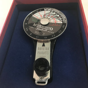 Norwood Flashrite Exposure Meter, Director Products Corp, NOS.