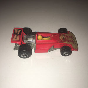 Matchbox Lesney Superfast #36 Formula 5000 in orange