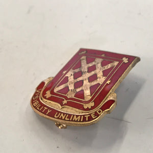 US Army 605th AAA Battalion Msl Dui Den Cb DI Pin Badge Unit Crest 670N