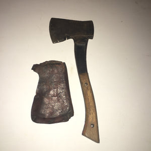 Vintage Hatchet Drop Forged Steel Made in Japan Steel