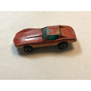 "VINTAGE 1980's Hot Wheels""THE HOT ONES SERIES"" RED Corvette Stingray"