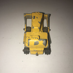 "Vintage Cast Iron Lesney ""Matchbox"" No.18 Caterpillar D8 Bulldozer (No Tracks)"