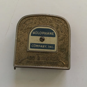 Vintage Holphane Measuring Tape