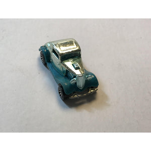 1979 Mattel Hot Wheels 34 Ford 3-Window Hot Rod Car TEAL CHROME Tampos - Annzstiques