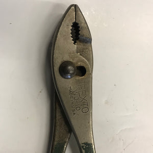Vintage Pexto 10 Inch Plier Model WO-10 Made In USA.