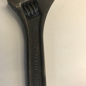 "Vintage Irega No.77 8"" Adjustable Spanner Wrench"