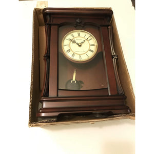 Bulova B1909 Abbeville Clock, Walnut Finish - Annzstiques