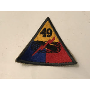 Embroidered Patch US Army National Guard 49th Armored Division Cannon - Annzstiques
