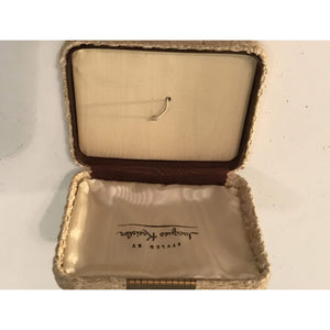 Jacques Kreisler Jewelry Box For Earrings Necklace (VINTAGE BOX ONLY) - Annzstiques