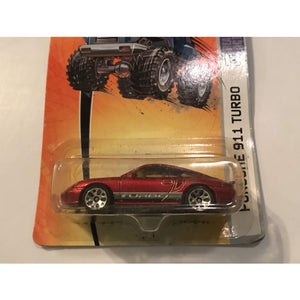 2005 Matchbox 1/64 Scale Diecast Metal Porsche 911 Turbo MBX Metal Series #69 - Annzstiques