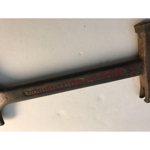Old B-R Co. Crate Opening Tool Hammer Kelloggs Corn Flakes Advertising Vintage