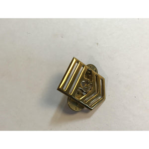 SM- military sergeant vintage stripes brass PIN