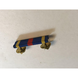 Vintage US Army Military Ribbon Bar Pin Button