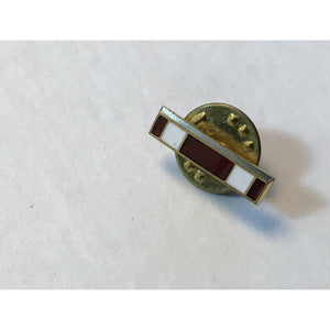 Award Tie Bar Tack Tac Military Medal Red Pin - Annzstiques