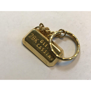 Vintage Oleg Cassini Key Chain 28K