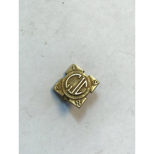 Vintage Yellow Gold Pin marked
