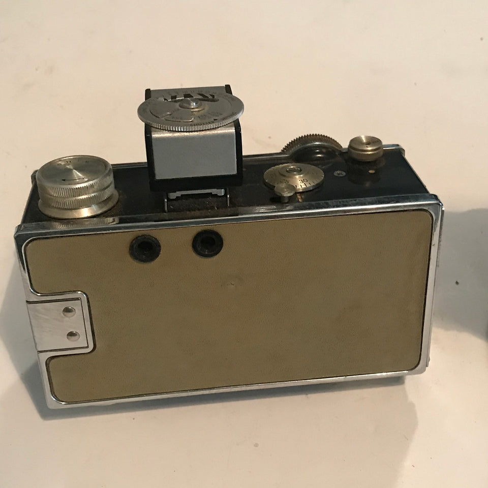 Argus C3 Matchmatic 35mm Film Camera and Full Case and meter.