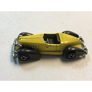 Hotwheels 1978 Auburn 852 Yellow Vintage Hot Wheels - Annzstiques