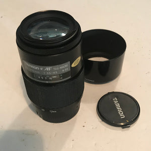 Tested Minolta Zoom Lens 100-200mm f4.5 Autofocus AF for Maxxum & Sony Alpha